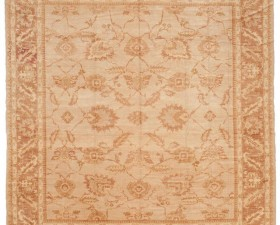 13658 oushak 447 cm x 467 cm 9 14 FT 8 IN X 15 FT 4 IN ) BEIGE ,LIGHT BROWN