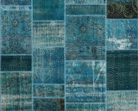 40 Turquaz - Seri No= 650 (220 x 150 cm)