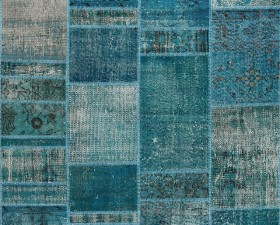 41 Turquaz - Seri No= 651 (197 x 141 cm)