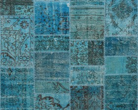 69 Turquaz -  Seri No= 759 (208 x 141 cm)