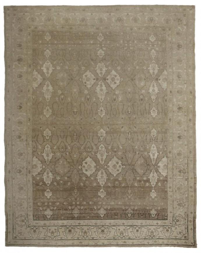14587 -stonewashed-279 cm x 351 cm -Gray,Ivory